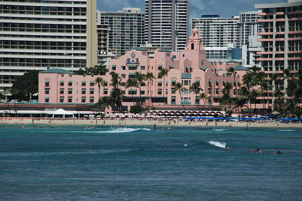 Historic Royal Hawaiian Hotel